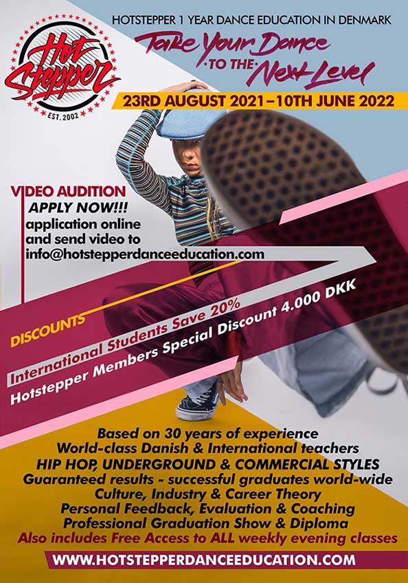 hotstepper dance education audition flyer